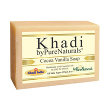 Load image into Gallery viewer, Khadi Cocoa Vanilla Soap byPureNaturals