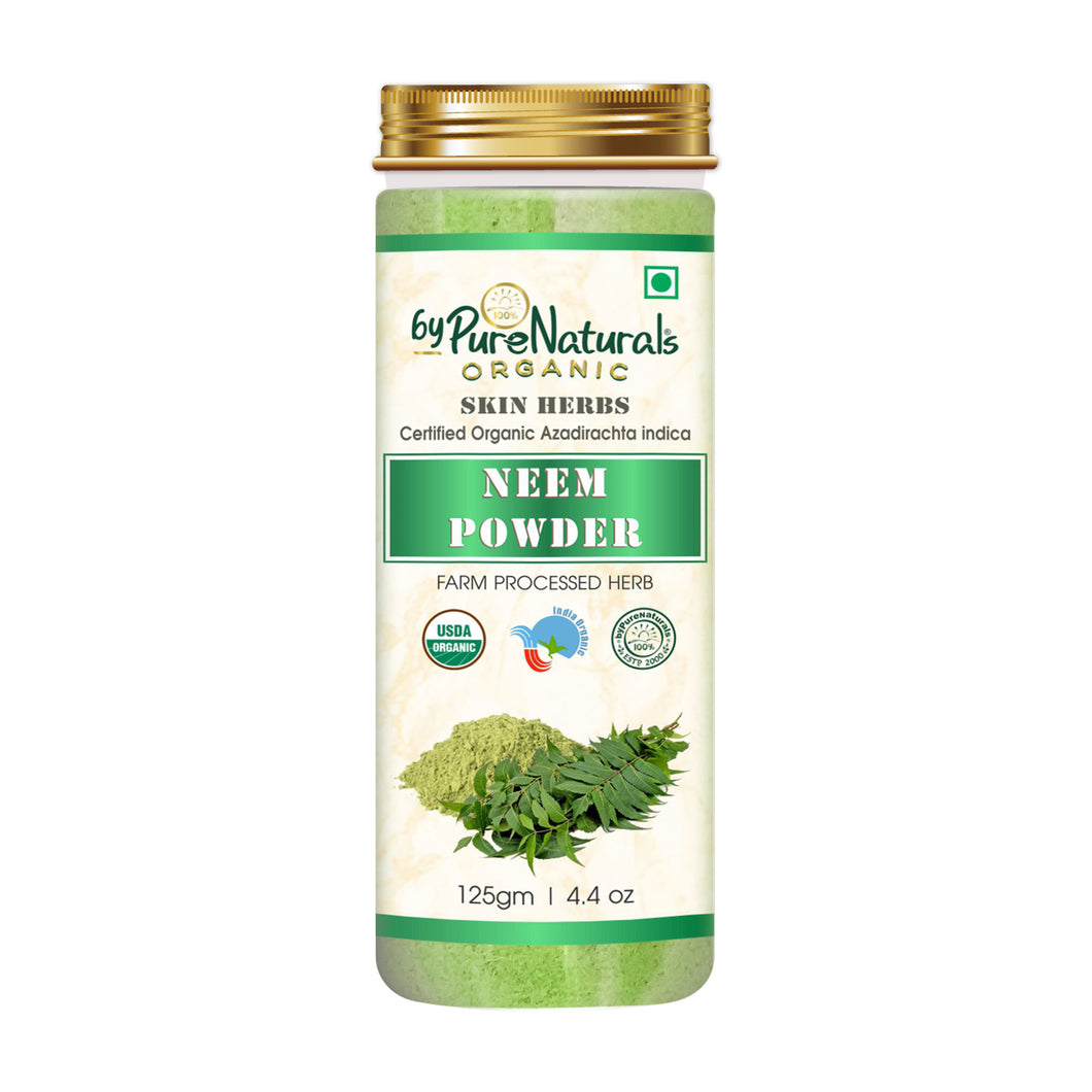 Organic Neem Powder byPureNaturals