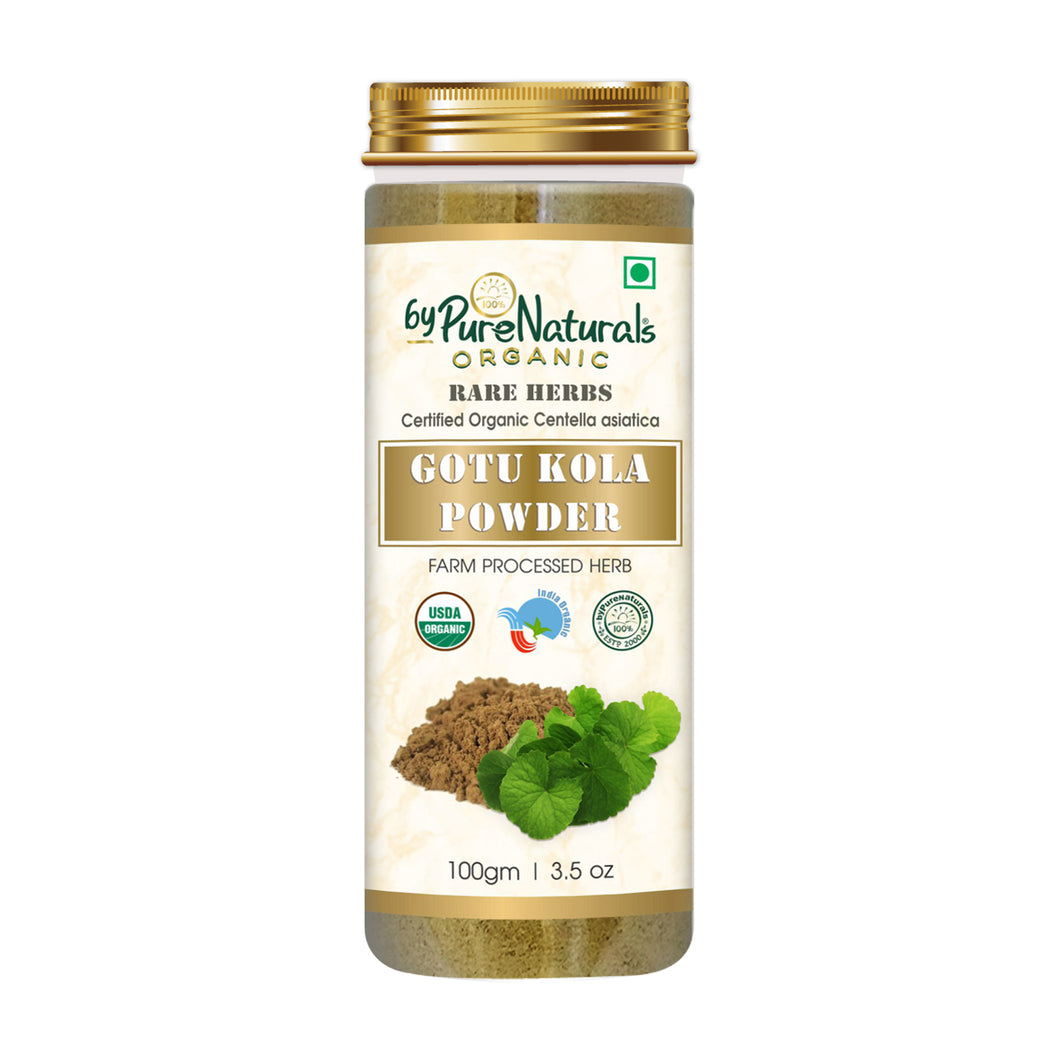 Organic Gotu Kola Powder byPureNaturals
