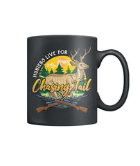 Chasing Tail Hunters Color Coffee Mug