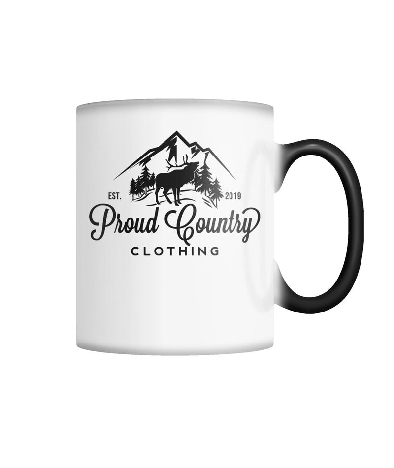 Proud Country Clothing Color Changing Mug