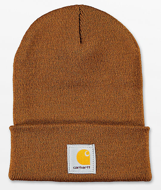 "Watch hat ""Beanie"" carhartt brown"