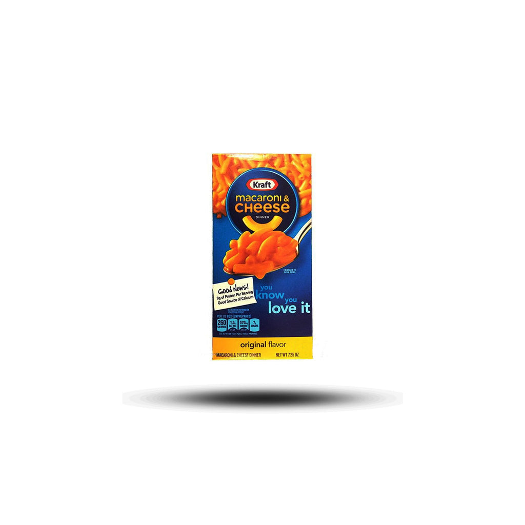 Kraft - Macaroni & Cheese Dinner - Original Flavor 206g-Kraft Foods-SNACK SHOP AUSTRIA