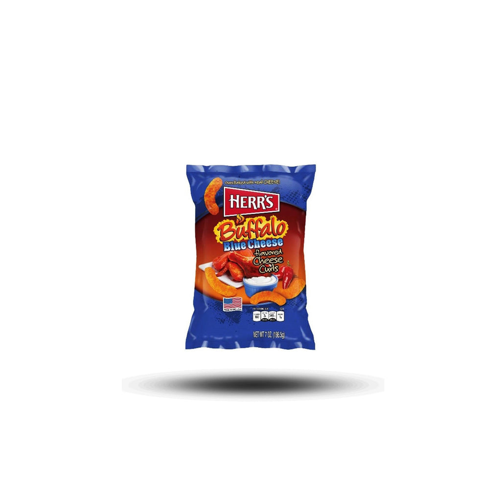 Herr´s Buffalo Blue Cheese Flavored Cheese Curls 198,5g-Herr´s-SNACK SHOP AUSTRIA