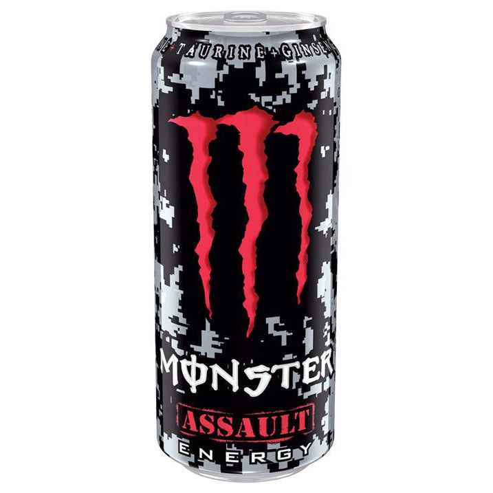 Monster Energy - Assault 500ml-Monster Energy-SNACK SHOP AUSTRIA