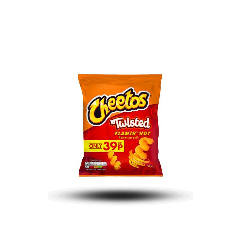 Cheetos Twisted Flamin´ Hot 30g-Cheetos-SNACK SHOP AUSTRIA