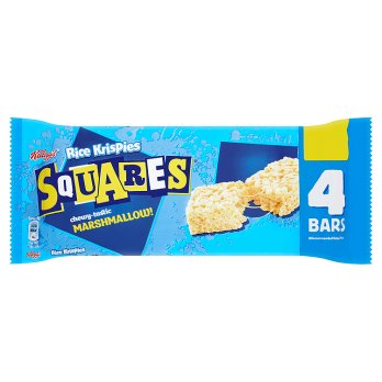 Kellogg´s Squares Marshmallow made with Rice Krispies 4x20-Kellogg´s-SNACK SHOP AUSTRIA