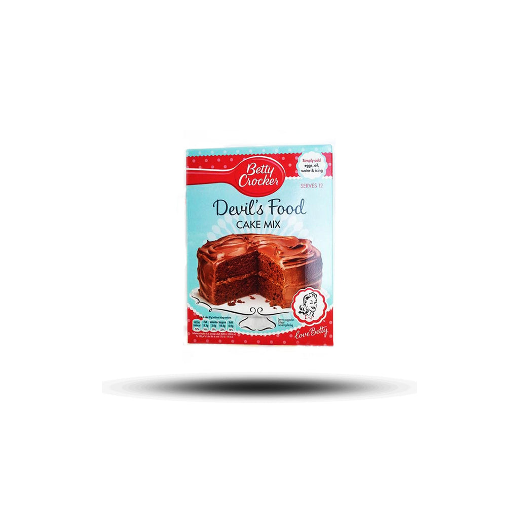 Betty Crocker Devils Food Cake Mix 425g-Betty Crocker-SNACK SHOP AUSTRIA