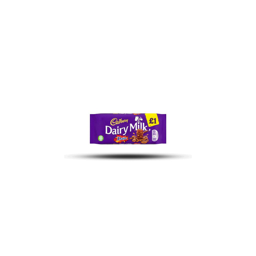 Cadbury - Dairy Milk with Daim - 120g-Cadbury-SNACK SHOP AUSTRIA