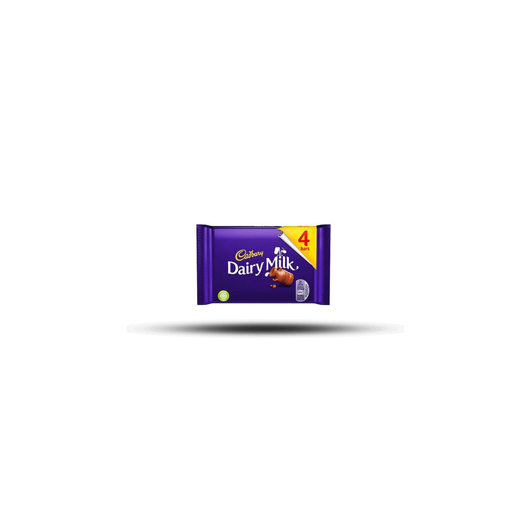 Cadbury Dairy Milk 4Pack 117,2g-Cadbury-SNACK SHOP AUSTRIA