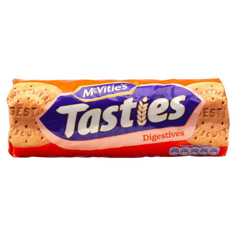 McVities Tasties Digestives 300g-McVitie's-SNACK SHOP AUSTRIA