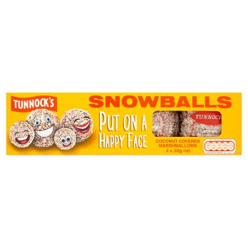 Tunnock's 4 Snowballs 120g-Thomas Tunnock Ltd-SNACK SHOP AUSTRIA