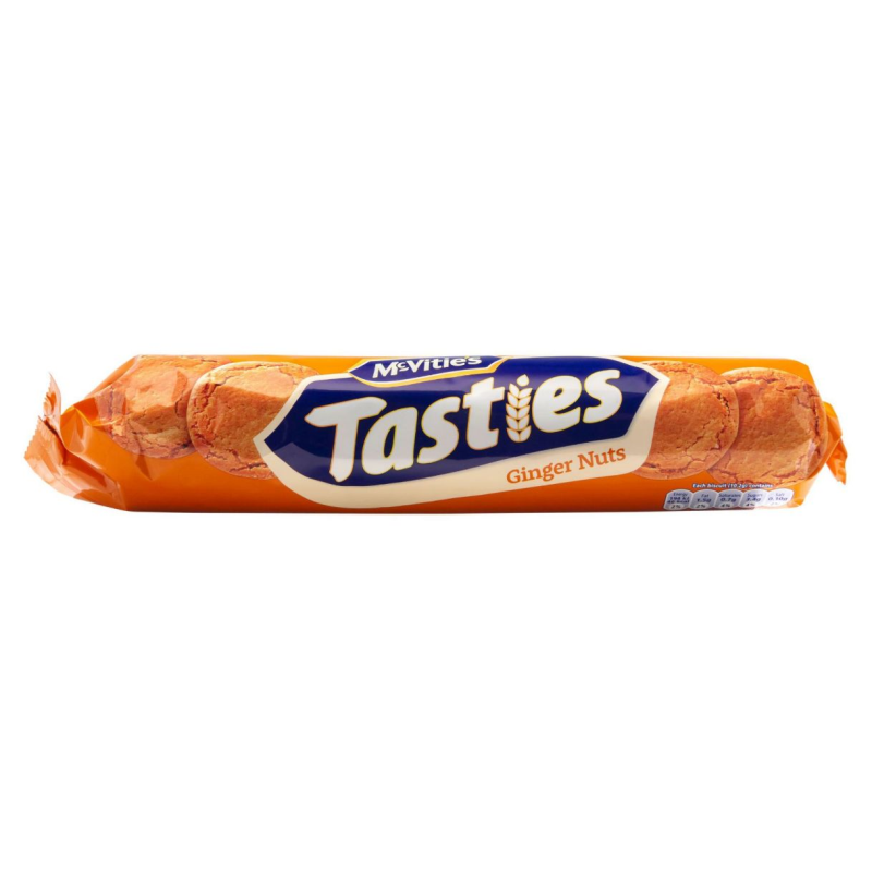 McVities Tasties Ginger Nut 300g-McVitie's-SNACK SHOP AUSTRIA