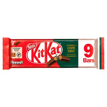 KIT KAT 2 Finger Dark Mint Chocolate Biscuit Bar 9 Pack-Nestlé-SNACK SHOP AUSTRIA