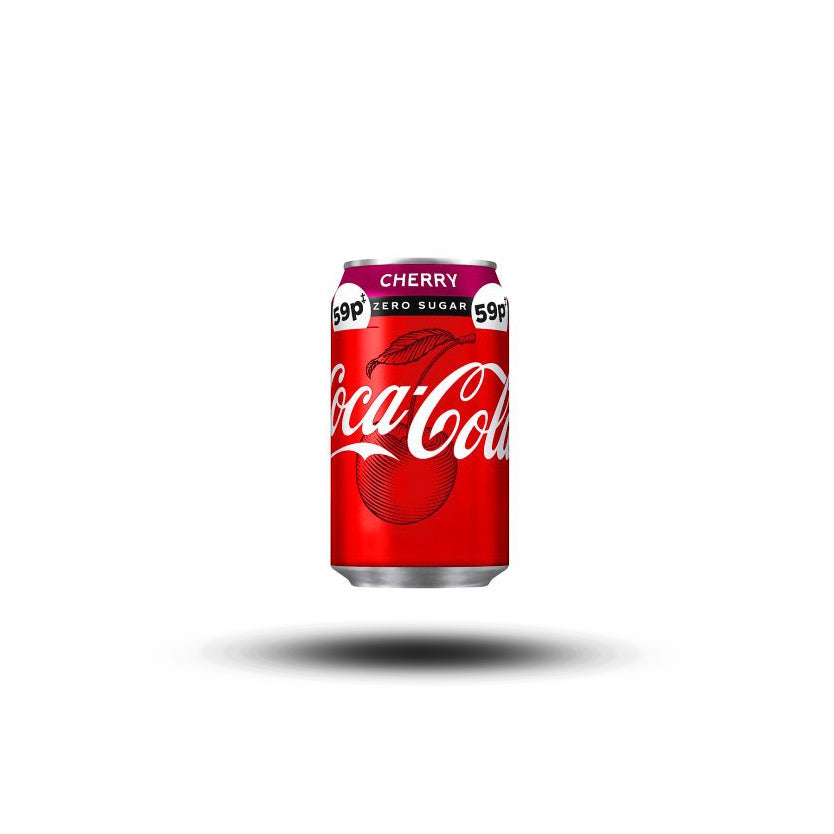 Coca Cola Cherry Zero 330ml-Coca-Cola Company-SNACK SHOP AUSTRIA