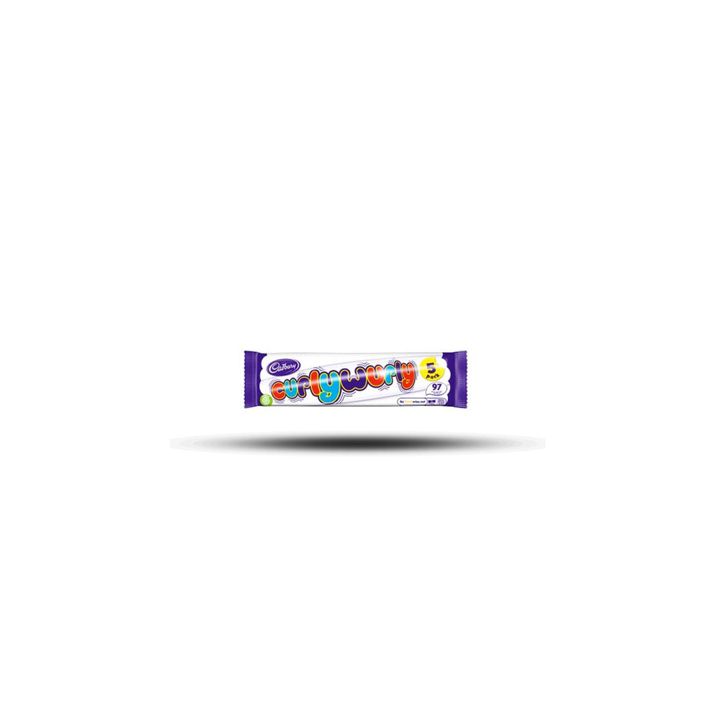 Cadbury Curly Wurly Chocolate Bar 5Pack 107.5g-Cadbury-SNACK SHOP AUSTRIA