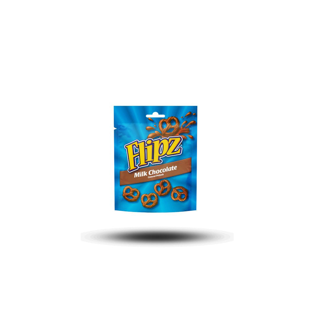 Flipz Milk Chocolate Covered Pretzels 90g-Star Brands North America, Inc.-SNACK SHOP AUSTRIA