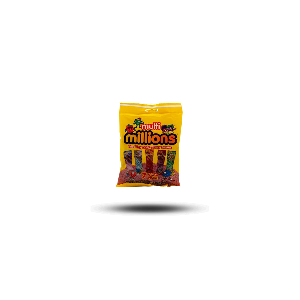 Millions Multi The Tiny Tasty Chewy Sweets 115g-Golden Casket (Greenock) Ltd.-SNACK SHOP AUSTRIA