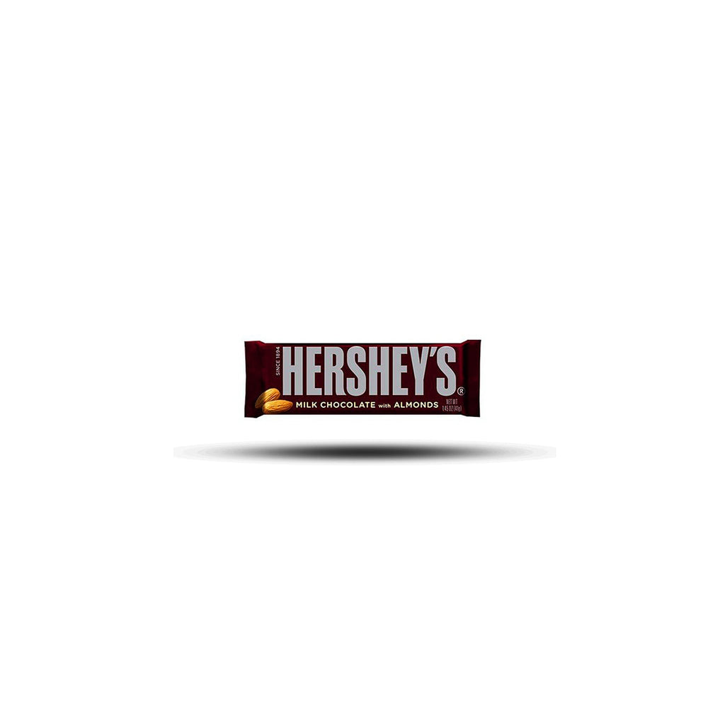 Hershey´s Milk Chocolate with Almonds 41g-SNACK SHOP AUSTRIA-SNACK SHOP AUSTRIA