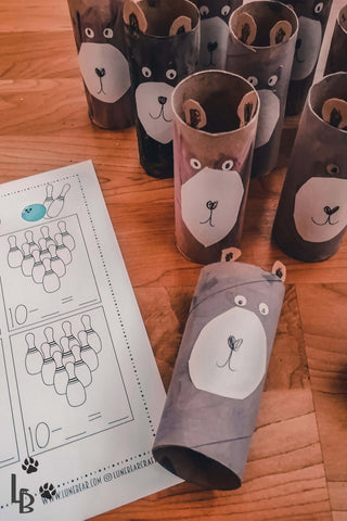 Number Bonds - Bear Bowling by Lune Bear