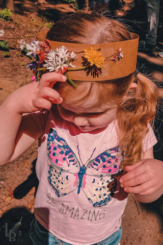 Forest Fairy Crown from Natural Resources | Lune Bear