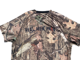 Camo Tee Shirt Close View