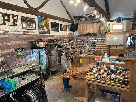 THE INTERIOR OF TROUT CREEK OUTFITTERS, WHICH OPENED IN DOWNTOWN TRUCKEE ON FATHER'S DAY 2020, COURTESY PHOTO