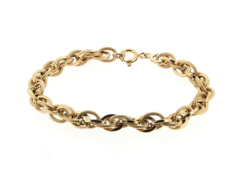 9ct Gold Fancy Link Bracelet