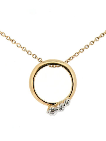 9ct Gold and Diamond Pendant