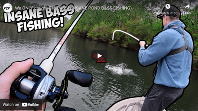 We ONLY Caught Big Bass! Pond Fishing in a Twin Troller