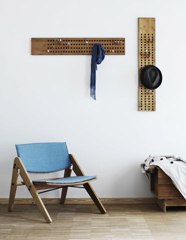 A simple corner to sit in a Scandinavian inspired interior