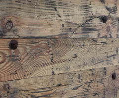 The unique character of reclaimed wood