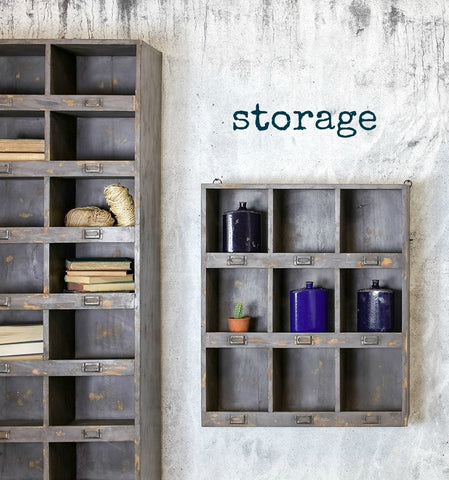 Salvation's range of rustic storage solutions