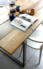 Salvation Furniture's reclaimed wood dining table - the Uff