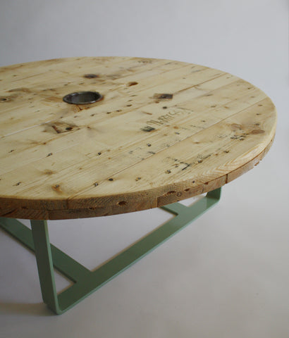 Reclaimed Wood Cable table