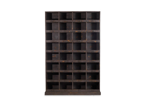 Harris wooden shelf unit