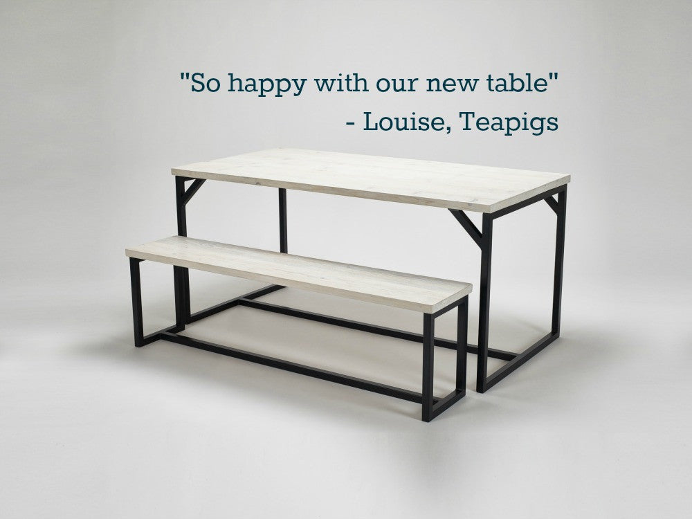 Teapigs comment on our reclaimed furniture