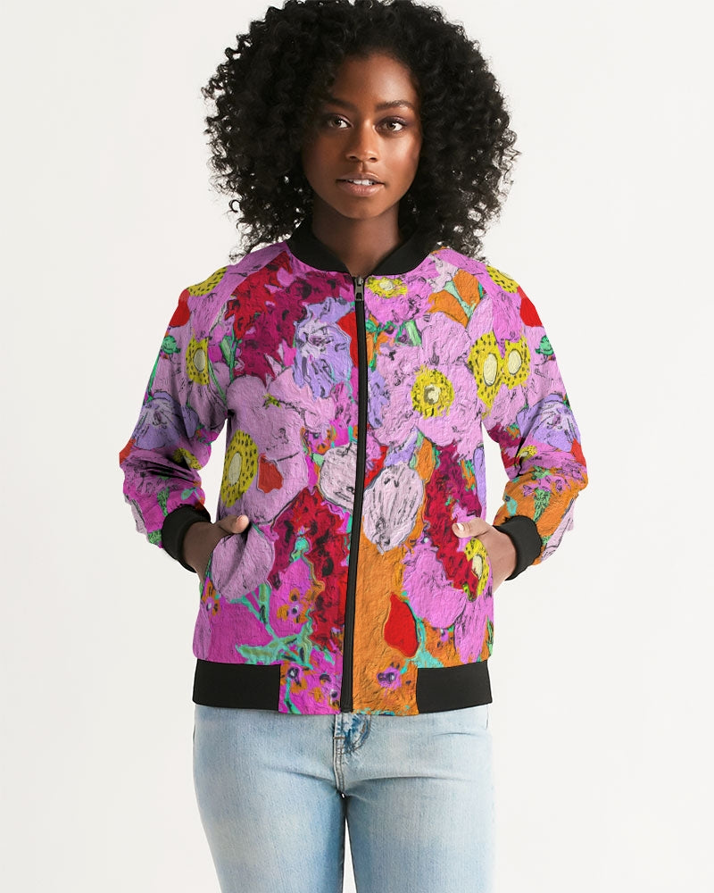 Flower to the people Women's Bomber Jacket