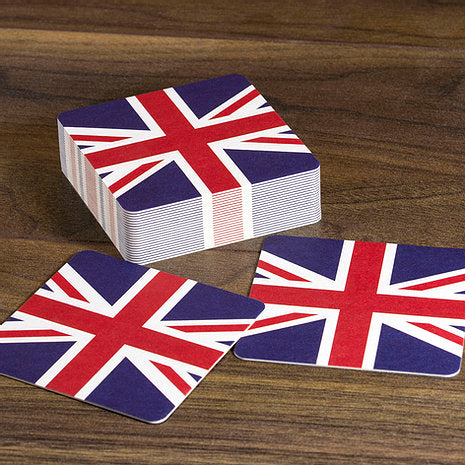 British Beer Mats - Union Jack - Pack of 10