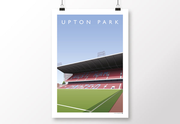 Upton Park Bobby Moore Stand Poster