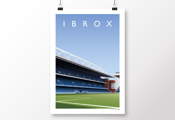 Ibrox Poster