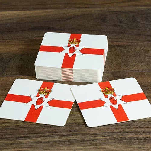 Northern Ireland Beer Mats - Pack of 10