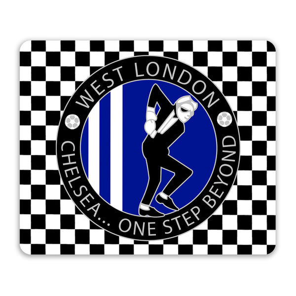 Chelsea Mouse Mat - 'One Step Beyond'