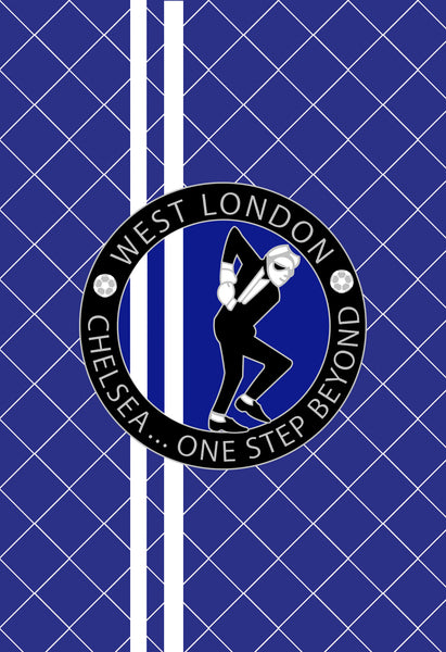 Chelsea A5 Note Book - 'One Step Beyond'