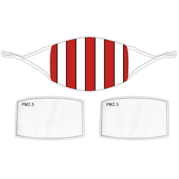 Southampton Face Mask -Home Bar Stripes