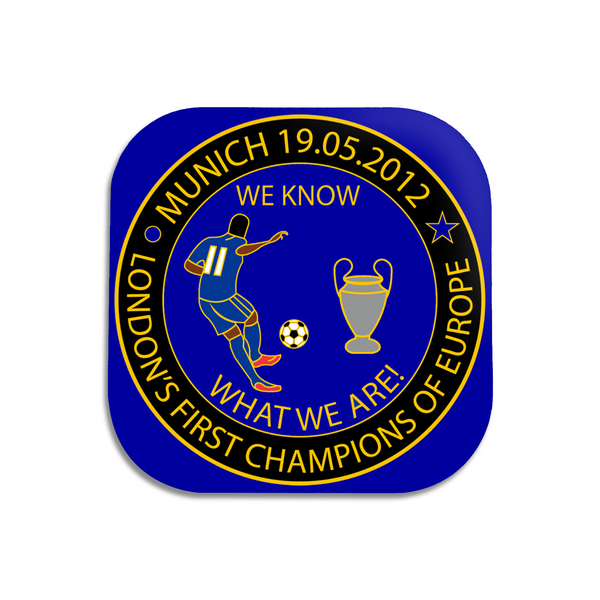"Chelsea Coasters - ""We Know What We Are Coasters"""