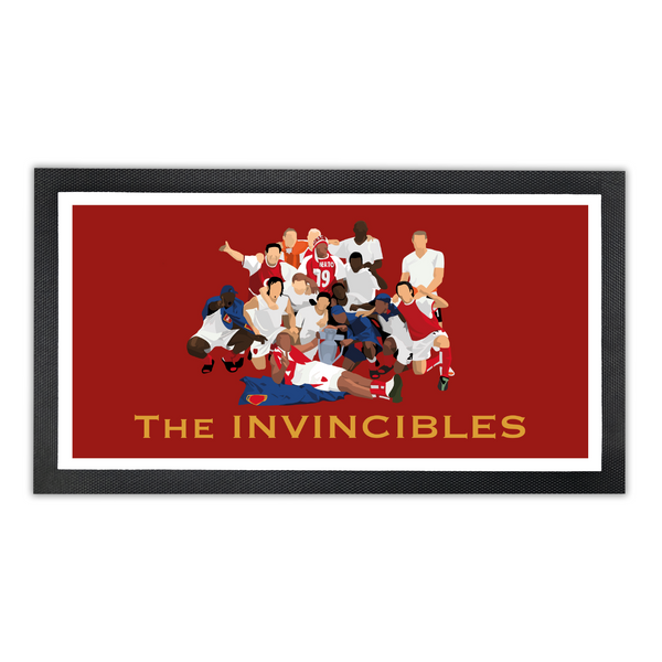 Arsenal Bar Runner - 'The Invincibles'