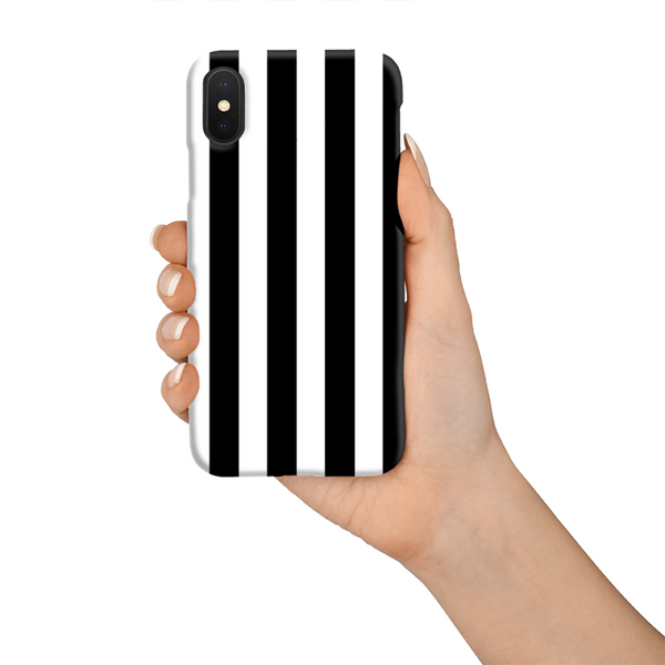 Black and White Phone Case (Hard)