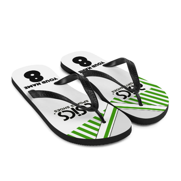 Norwich City Flip Flops -  89 Away