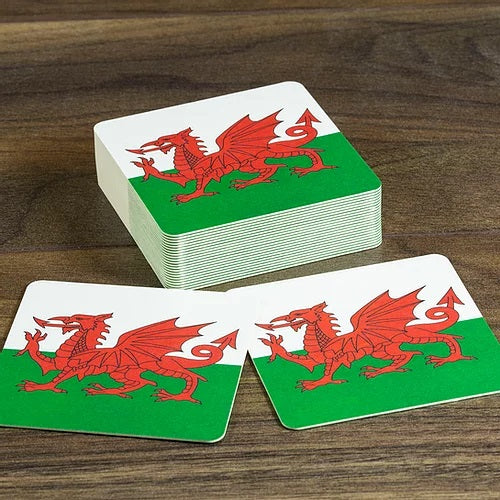 Wales Beer Mats - Pack of 10